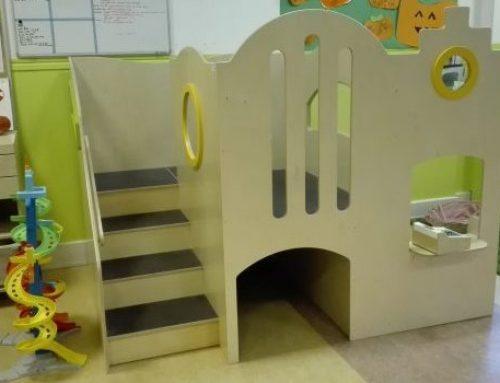 Wij hebben een nieuw speelhuis binnen